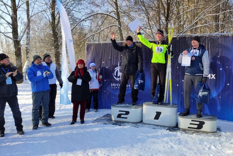 Коломзавод провел соревнования по лыжным гонкам