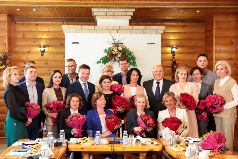 Озерский соцработник представил округ на встрече с премьер-министром