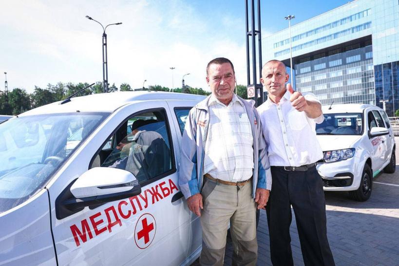 16 новых автомобилей для обслуживания вызовов на дому получила Коломенская центральная районная больница