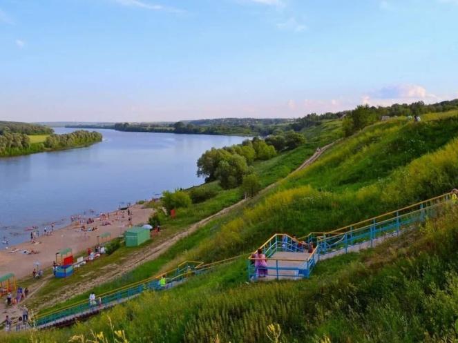 Жителей Колычева, а также всех коломенцев приглашают проголосовать за благоустройство пляжа на Оке