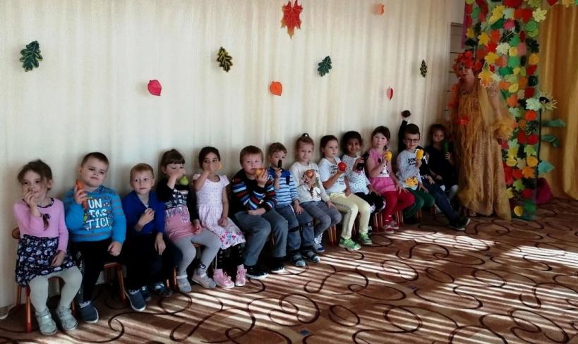 Осенний праздник прошел в коломенском детском саду